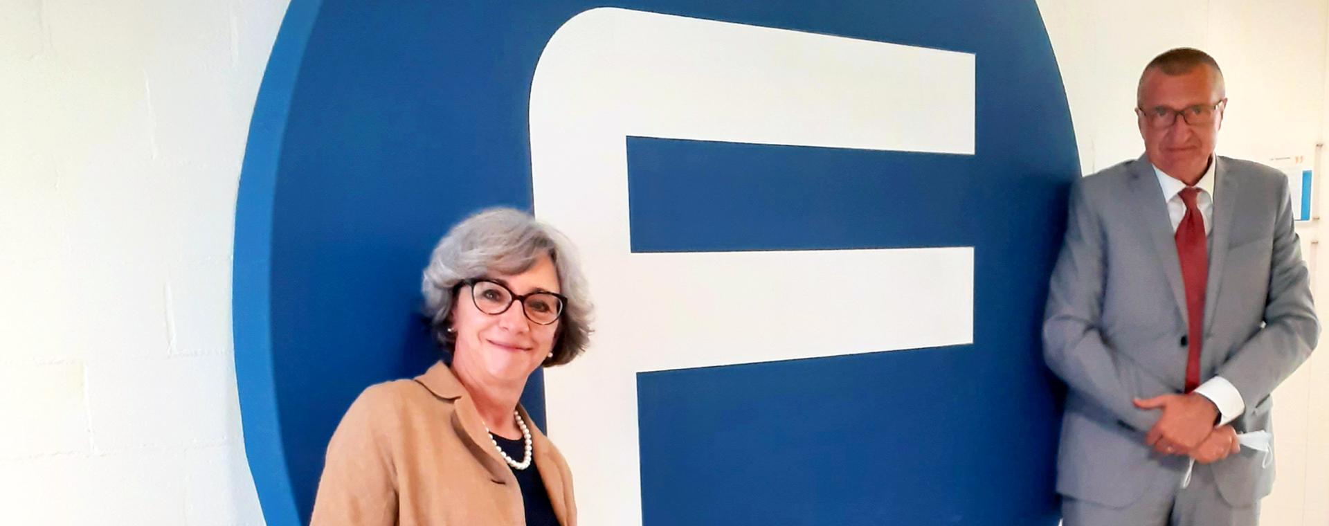 La presidente di Area Science Park visita Friuli Innovazione