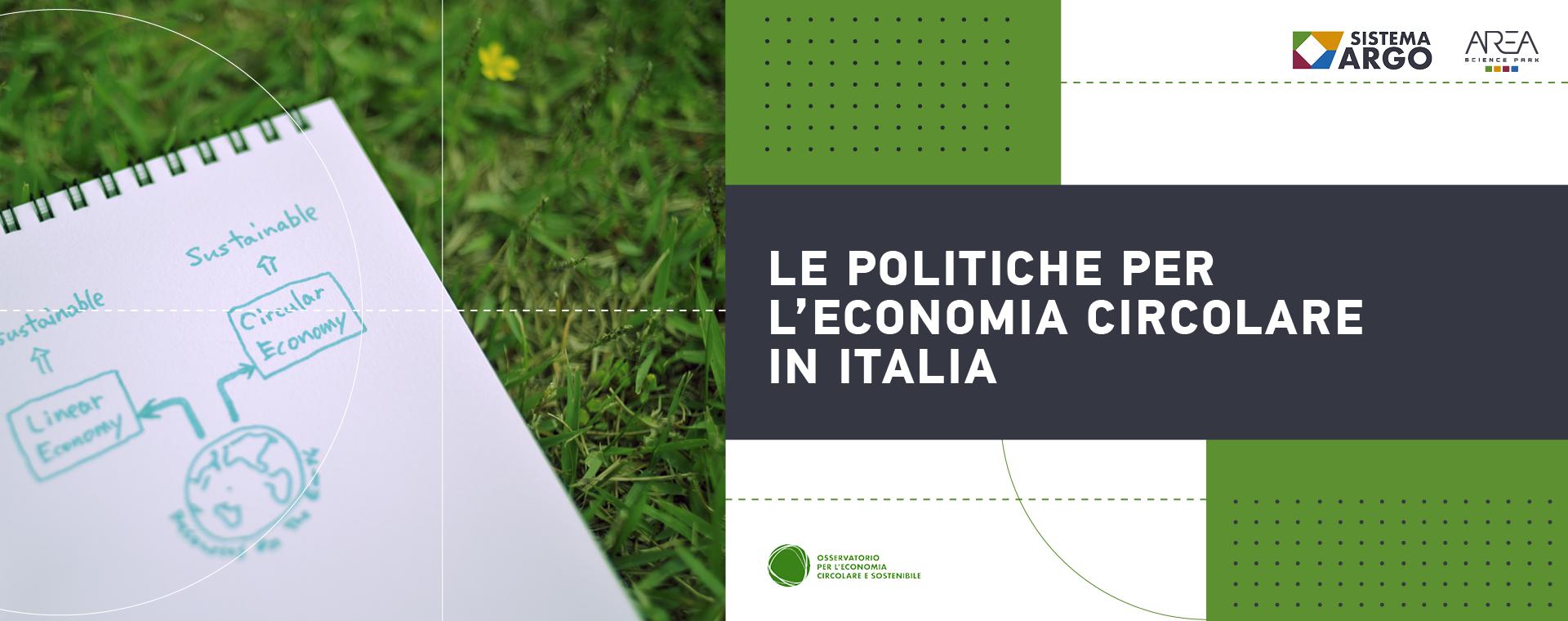 Le politiche per l'economia circolare – Livello Nazionale italiano