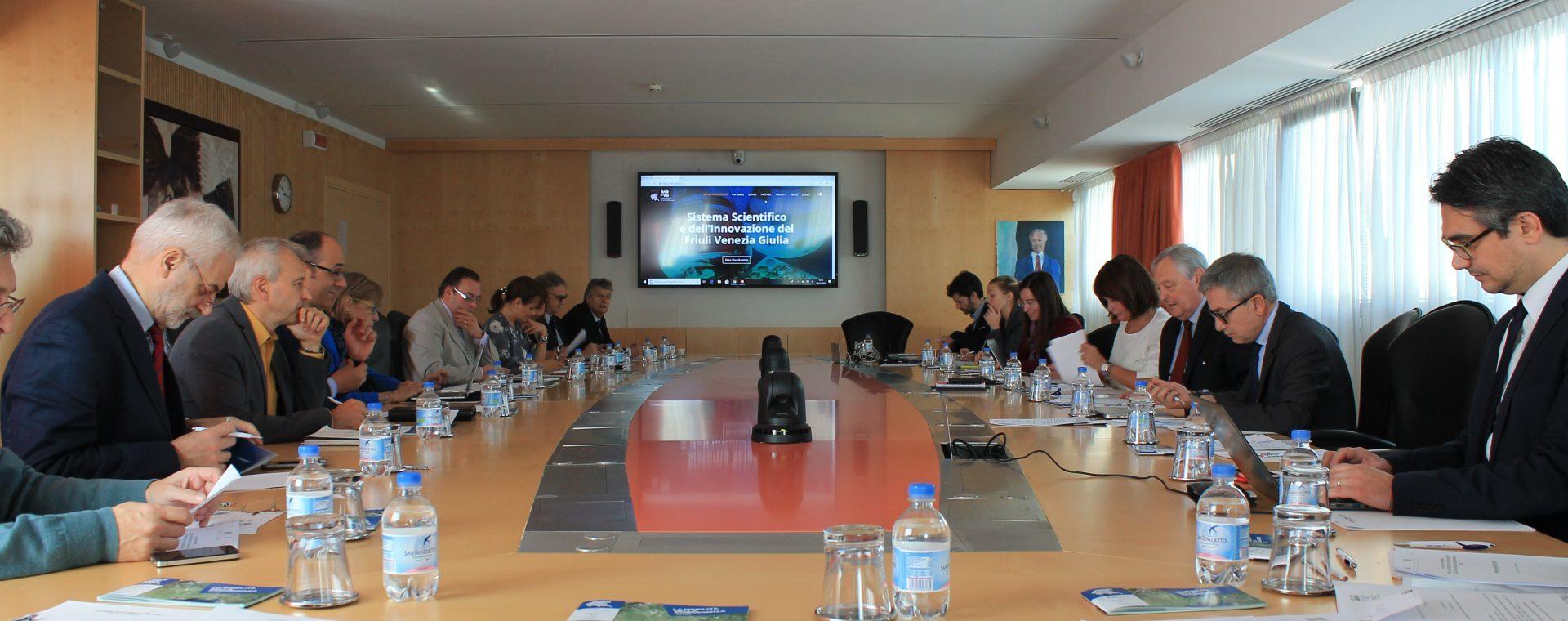Il Consiglio di indirizzo del SIS FVG si è riunito oggi in Area