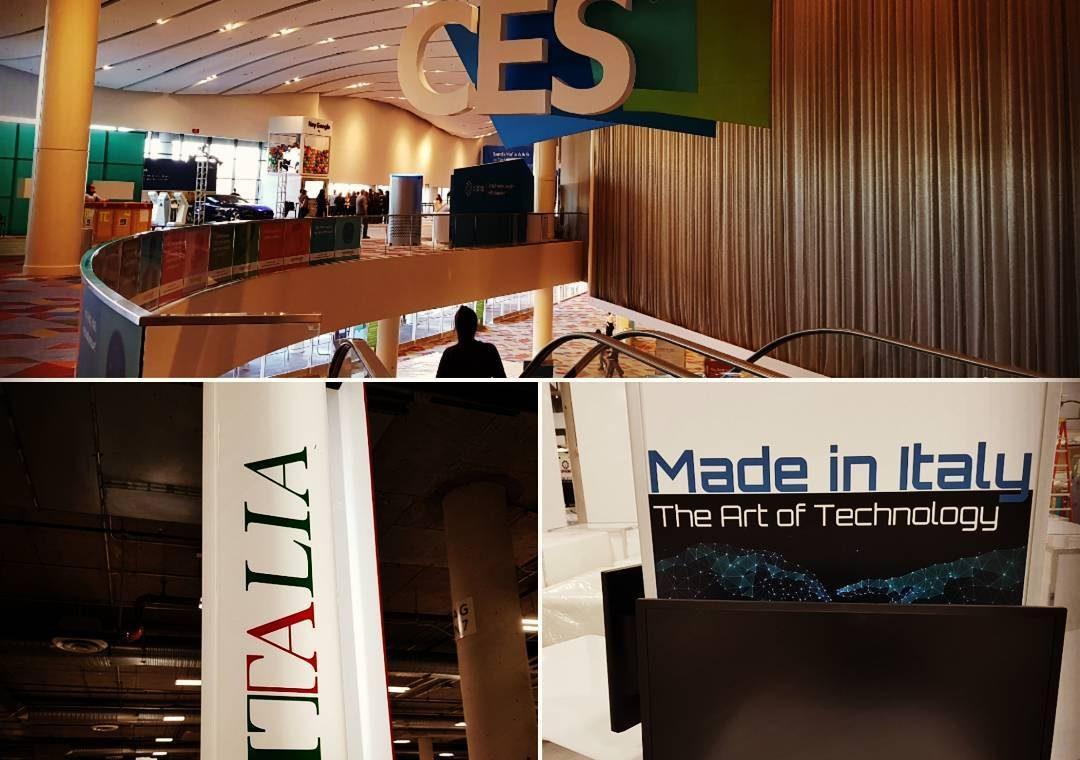 Al Consumer Electronics Show 2018 la missione italiana TILT per promuovere startup tecnologiche [live twitting]