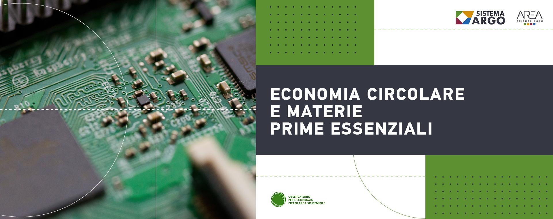 Economia Circolare e Materie Prime Essenziali
