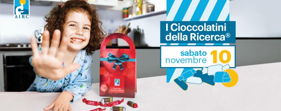 Da sabato 10 novembre tornano in oltre 1.000 piazze I Cioccolatini della Ricerca di AIRC