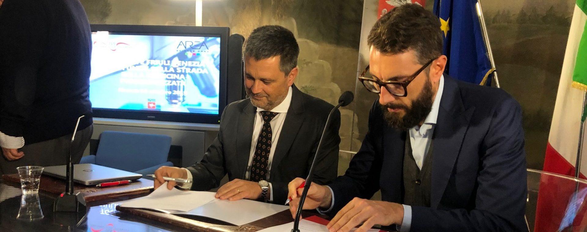 Genomica ed epigenomica: accordo innovativo Toscana-Friuli Venezia Giulia: Fondazione TLS e Area Science Park siglano un accordo per progetti su genomica ed epigenomica
