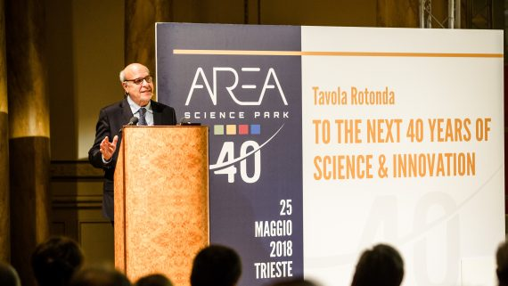 To the Next 40 Years of Science & Innovation: i primi 40 anni di attività di Area