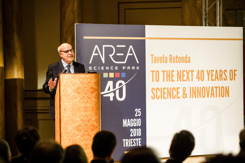 To the Next 40 Years of Science & Innovation: i primi 40 anni di attività di Area
