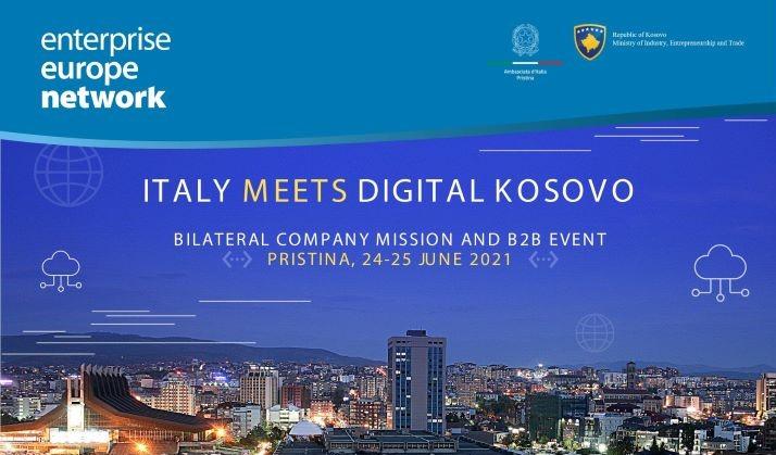 Italy meets Digital Kosovo: Bilateral Event