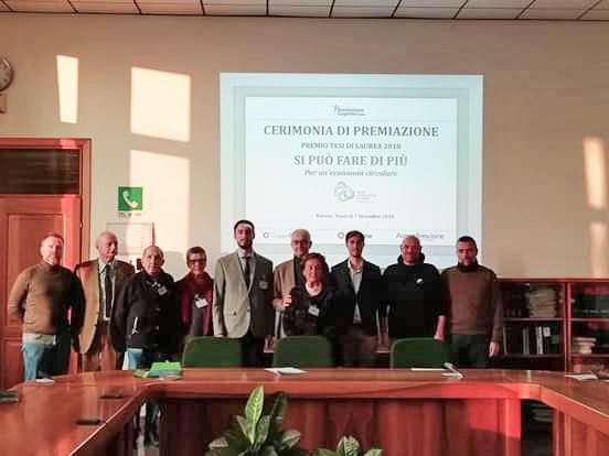 Economia Circolare: riconoscimento alla tesi di laurea di Marco Compagnoni