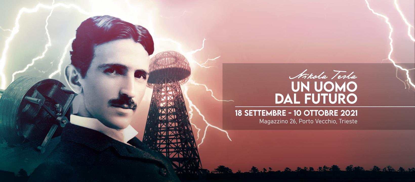 Nikola Tesla: un uomo dal futuro. Dal 18 settembre apre la mostra in collaborazione con Area Science Park