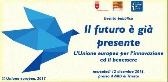 Il futuro è già presente: l'Unione Europea per l'innovazione e il benessere