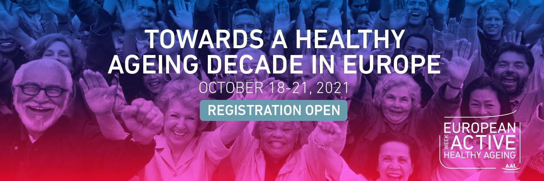 Settimana europea dell'invecchiamento attivo e in buona salute 2021