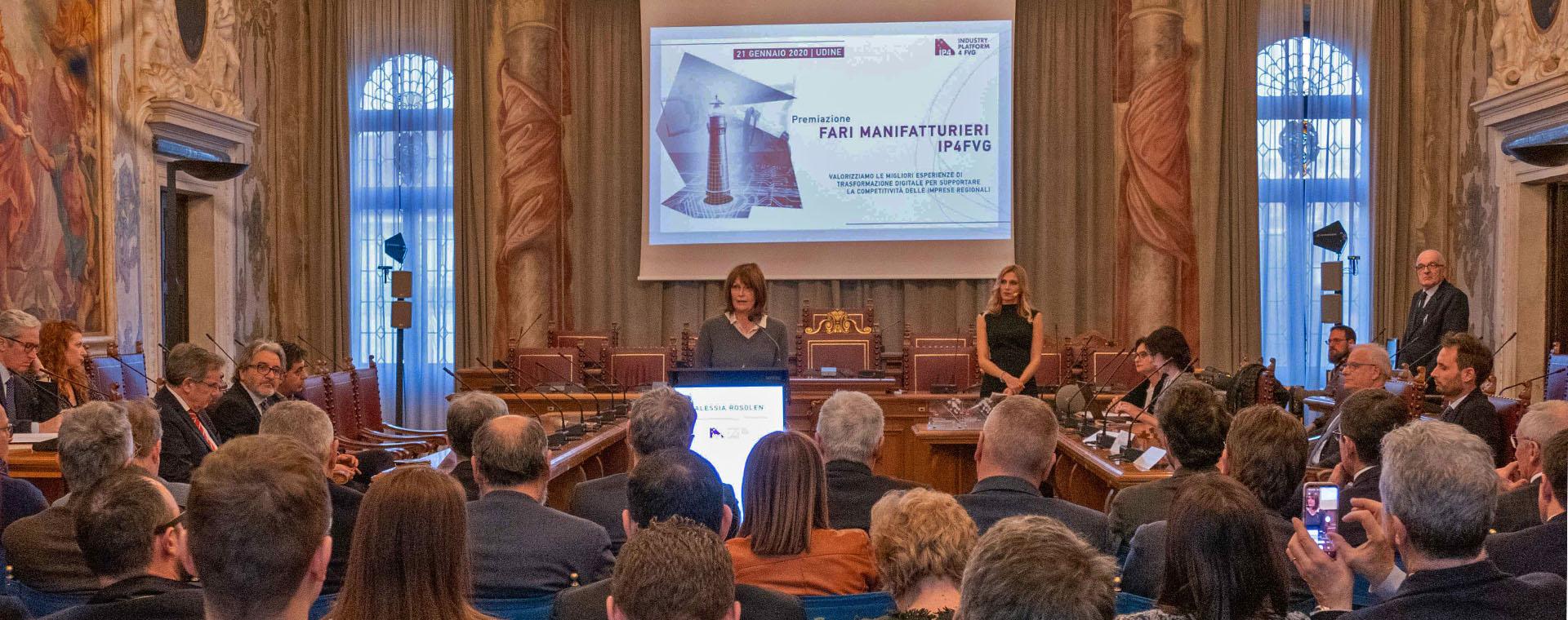 Premiati i Fari Manifatturieri del Friuli Venezia Giulia