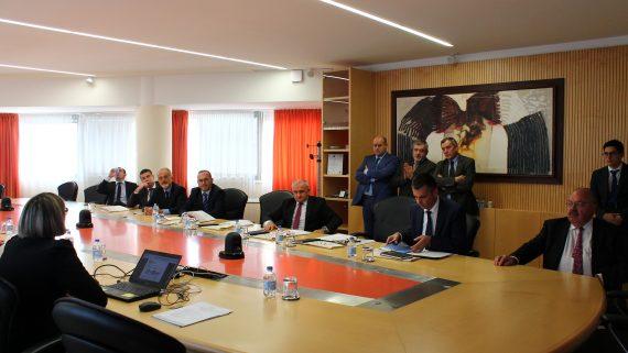 Visita istituzionale del Ministro dell'industria, dell'energia e delle miniere della Repubblica Srpska di Bosnia-Erzegovina