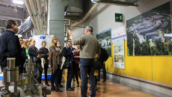 Visita in AREA di una delegazione del Parco scientifico di Belgrado e di giornalisti serbi