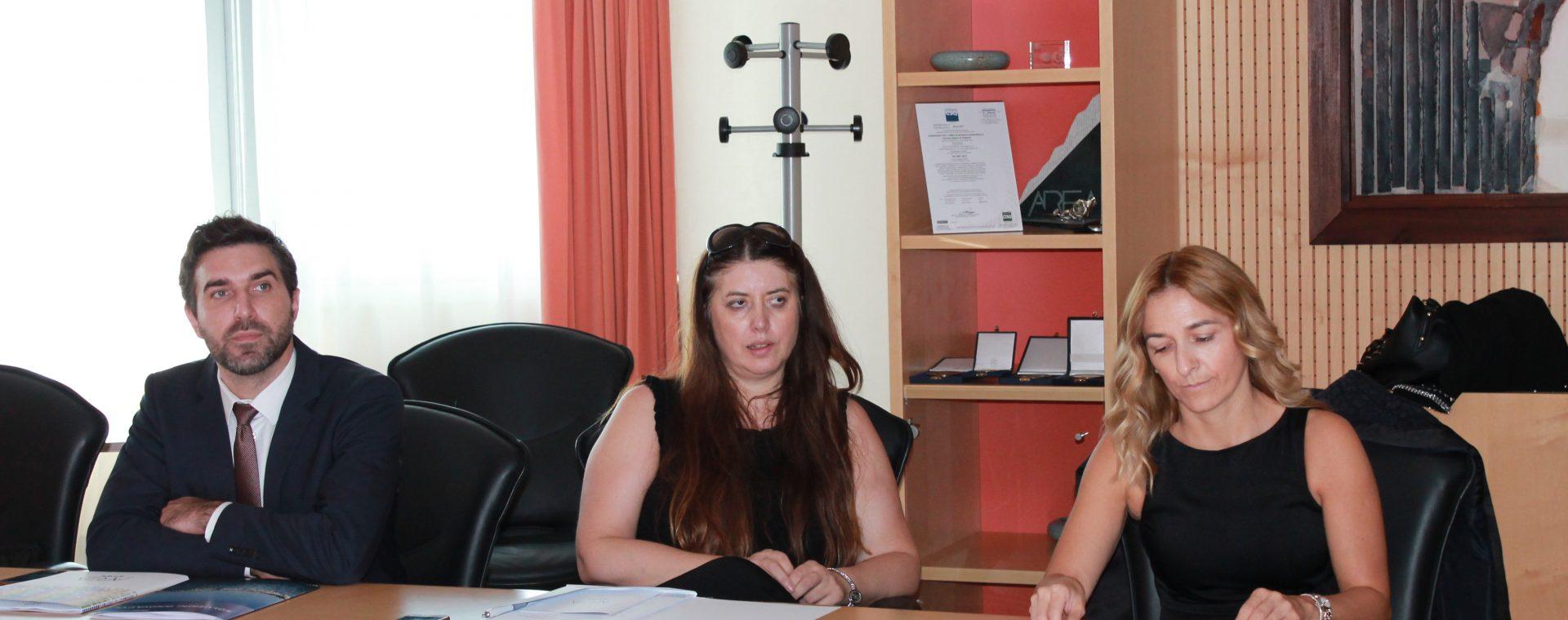 Visita in Area di una delegazione ministeriale della Croazia
