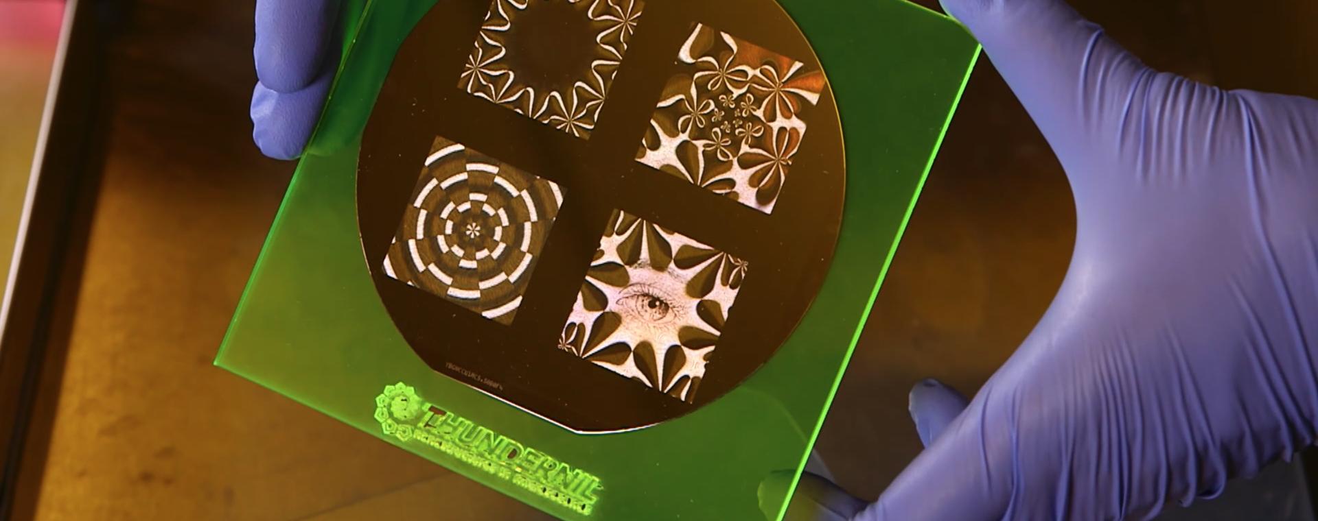 ThunderNIL: la nanofabbricazione in un lampo