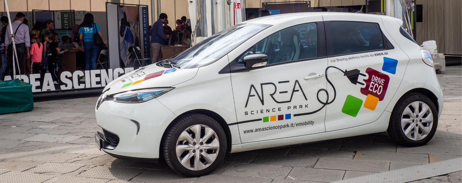 Car Sharing elettrico in Area Science Park: conclusa con successo la sperimentazione del servizio