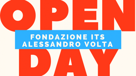 Open Day all'ITS A. VOLTA venerdì 24 marzo ore 14.00 – 18.00