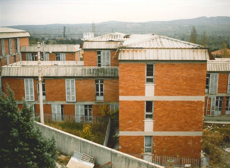 Il Campo Profughi dove poi è sorta AREA Science Park