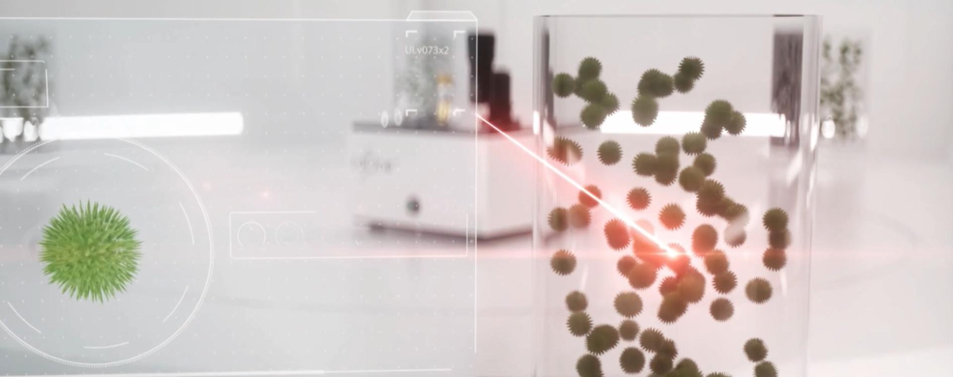 L'hi-tech che scova i virus e i batteri