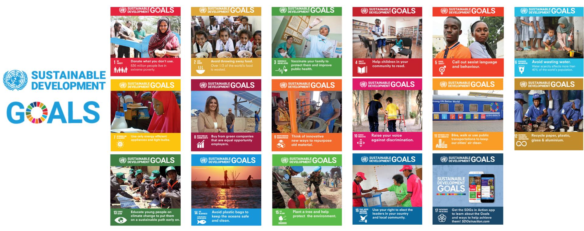 Scopri i 17 obiettivi dello sviluppo sostenibile delle Nazioni Unite
