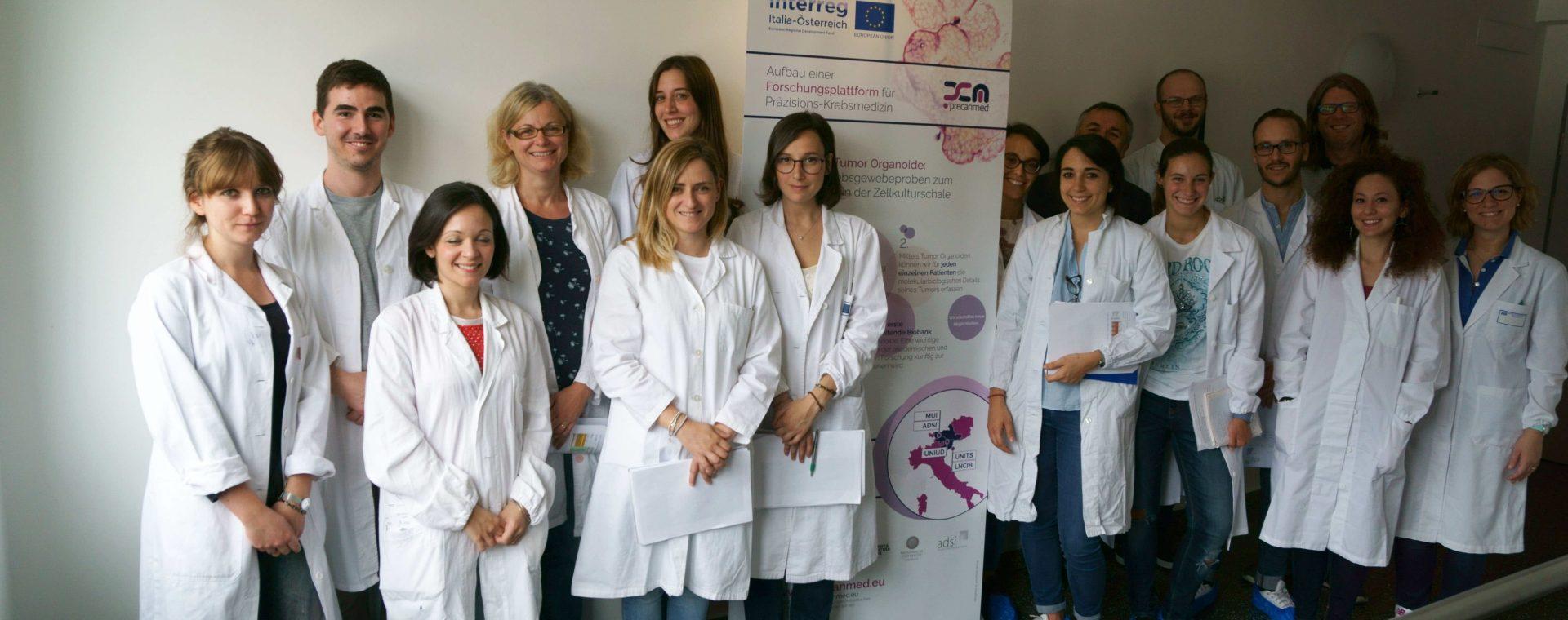 Medicina anticancro di precisione: PreCanMed forma giovani ricercatori sulla tecnologia degli organoidi tumorali