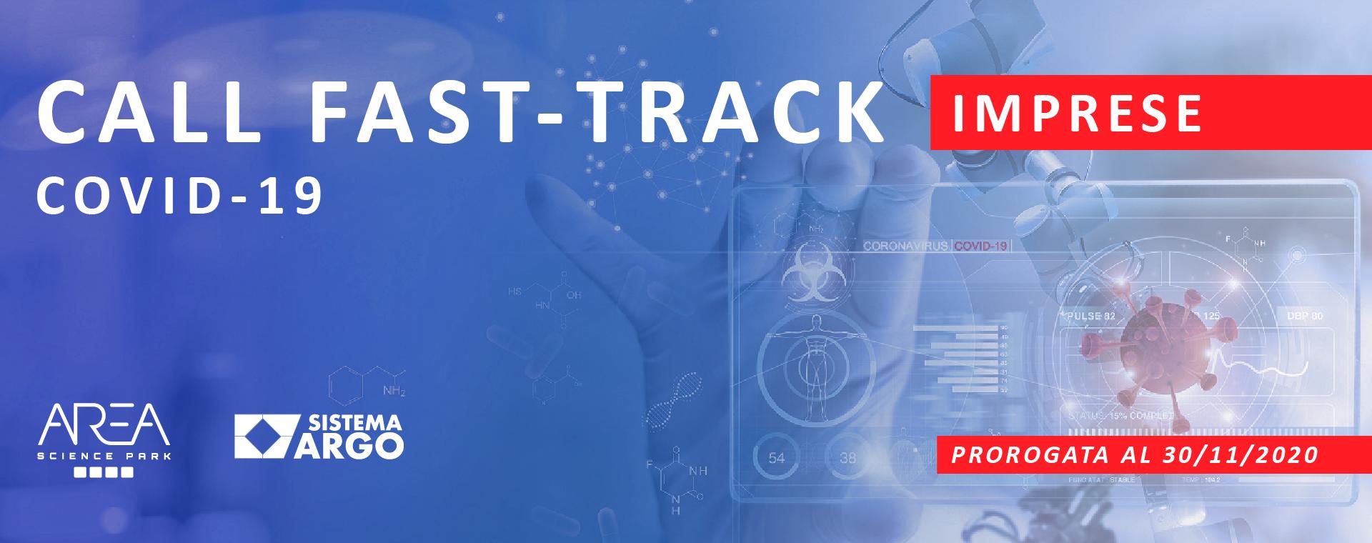 """""""FAST-TRACK COVID-19"""": la call si estende alle imprese"""