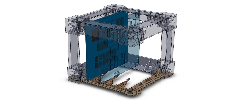 Un innovativo nano satellite stampato in 3D andrà sull'ISS