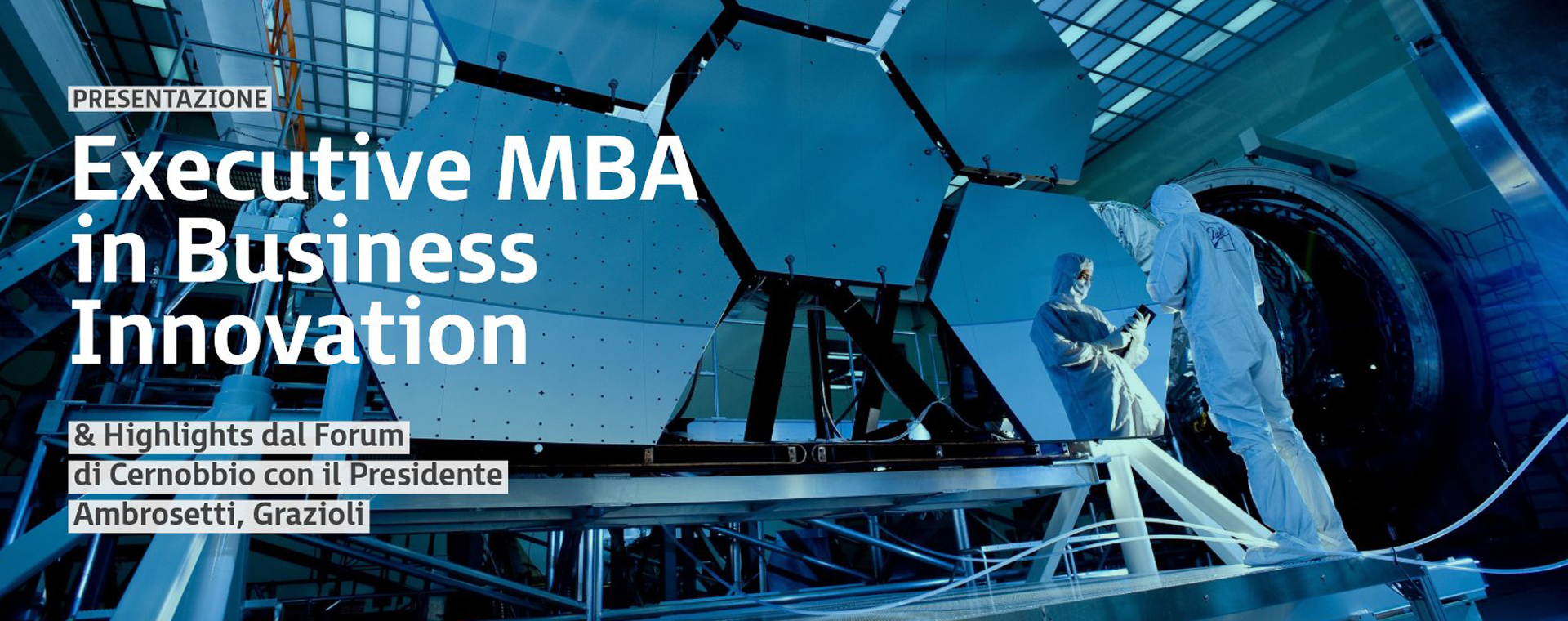 Immagine: EXECUTIVE MBA IN BUSINESS INNOVATION