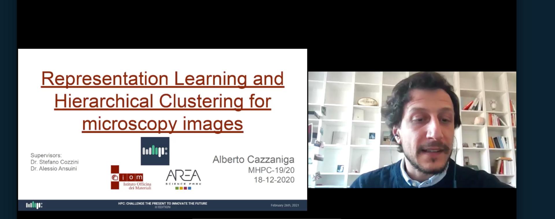 Alberto Cazzaniga vince il premio per la miglior tesi al Master in High Performance Computing di Sissa-Ictp