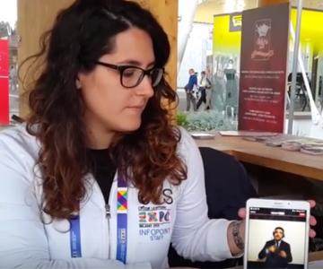 EXPO: servizio di video-interpretariato per le persone sorde grazie a VEASYT Live!