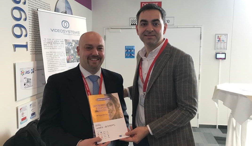 """Video Systems vince il """"Best pitch audience award"""" all'EIC Corporate Day"""